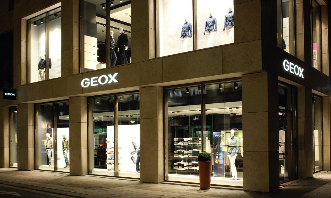 Geox: Sportiv aus der Krise   outdoor.markt